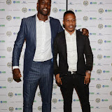 OIC - ENTSIMAGES.COM - Carlton Cole at the  Football fighting Ebola fundraising at Sarceys in London  12th April 2015 Photo Mobis Photos/OIC 0203 174 1069