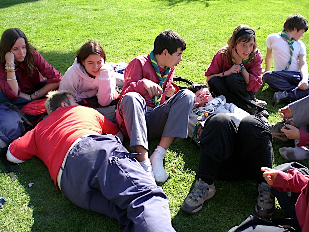 Sortida Sant Salvador de les espasses 2006 - CIMG8484.JPG