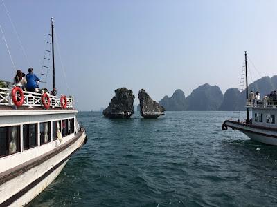 ベトナムのハノイとハロン湾