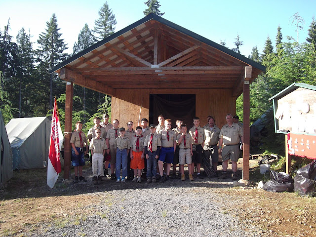 Add a few scoutmasters and it gets better!