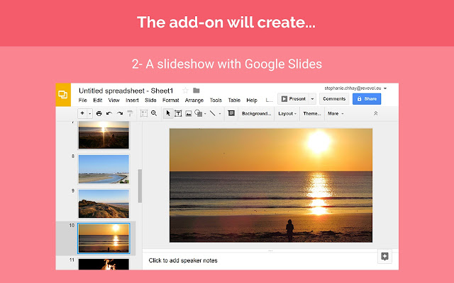 Photo Gallery by Awesome Table - Google Sheets add-on 13c7ea28174a6