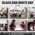 Black and White Day Celebration by Jr. Kg Section (2018-19), Witty World, Goregaon East