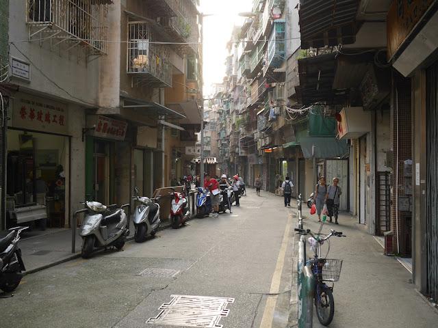 Rua da Palmeira in Macau