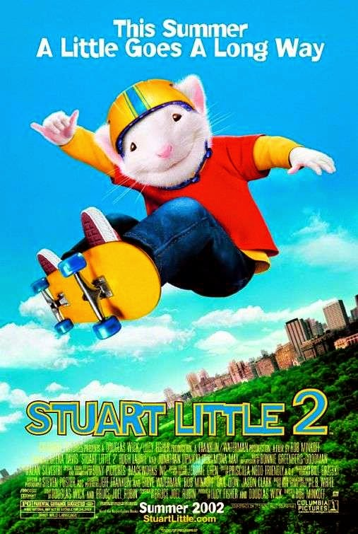Poster Of Stuart Little 2 (2002) Full Movie Hindi Dubbed Free Download Watch Online At Alldownloads4u.Com