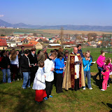 Krížová cesta na kalvárii v Kr. Vsi na Veľký piatok 2014