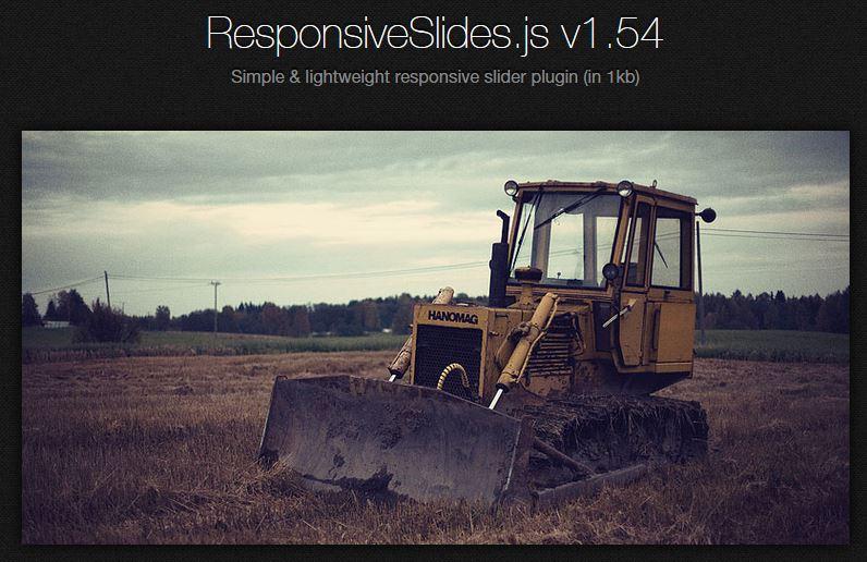 Responsive slides