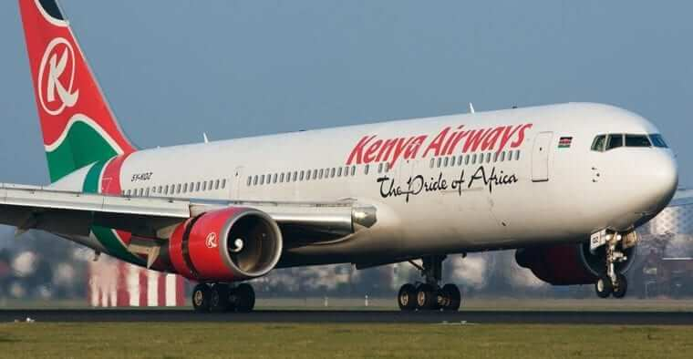 Kenya airways profile. PHOTO   FILE
