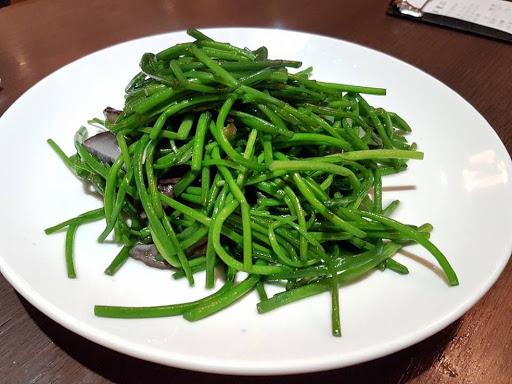 Green veggie from Kao Chi at Yongkang Street Taipei