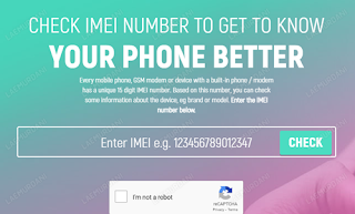 Cek Info IMEI HP Android Samsung Secara Online