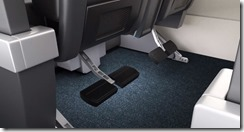 American Airlines Premium Economy to show foot rest