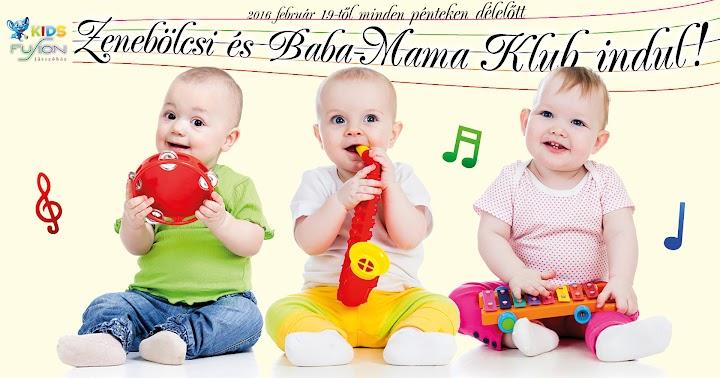 Fusion Zenebölcsi és Baba Mama Klub 2016