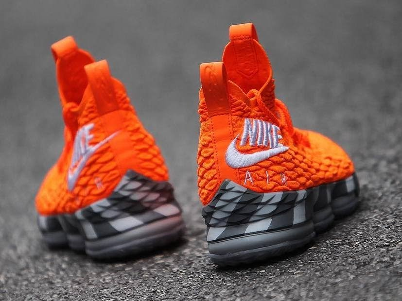 c560b63425f Nike s First Orange Box Inspires the Latest Nike LeBron Watch 15s ...