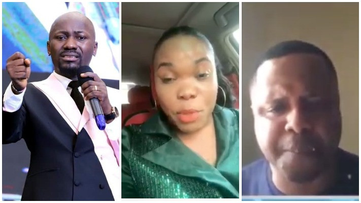 "I am the one in the recording but it was doctored - Apostle Suleman reacts to ""audio clip"" released by a former Pastor who accused him of sleeping with his wife"
