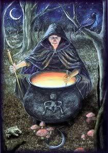 Goddess Cailleach Bheur Image