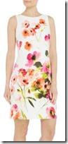 Lauren Ralph Lauren Sleeveless Floral Pattern Dress