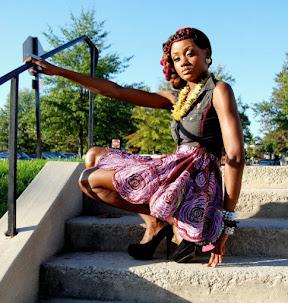 ankara design, skirt