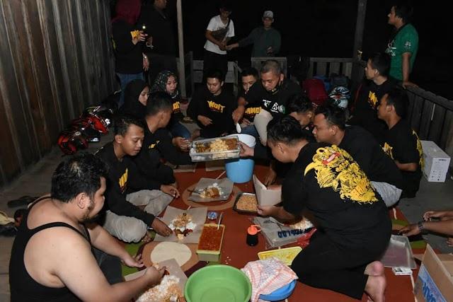 Touring di Masa Covid-19, Bandit Batola Menuju Bukit Mawar