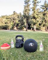 outdoor workout class pasadena