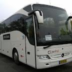Mercedes Tourismo van Janhol bus H29