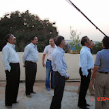 Demonstration of Amateur Radio Satellite communication to Mr Annadurai and Mr Raghavamurthy - DSC00128.JPG