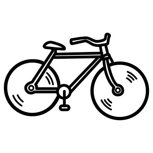 Dibujos De Bicicletas Para Colorear Y Pintar