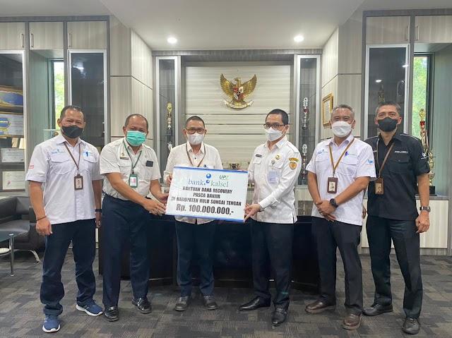 UPZ Bank Kalsel Bantu Recovery HST Pasca Banjir