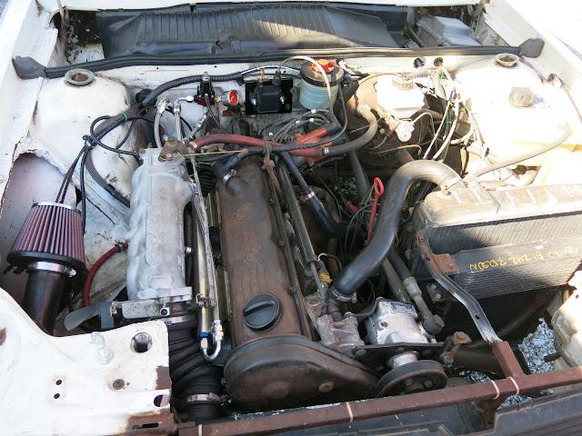 Audi 4000 Quattro 10vt Project  U0026quot Walter U0026quot     Motorgeek Com