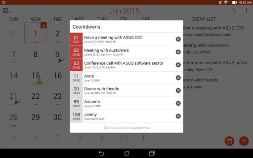 ASUS Calendar screenshot 11