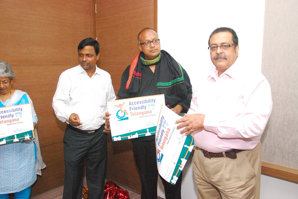 Launching of Accessibility Friendly Telangana, Hyderabad Chapter - DSC_1233.JPG