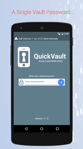 QuickVault Password Manager
