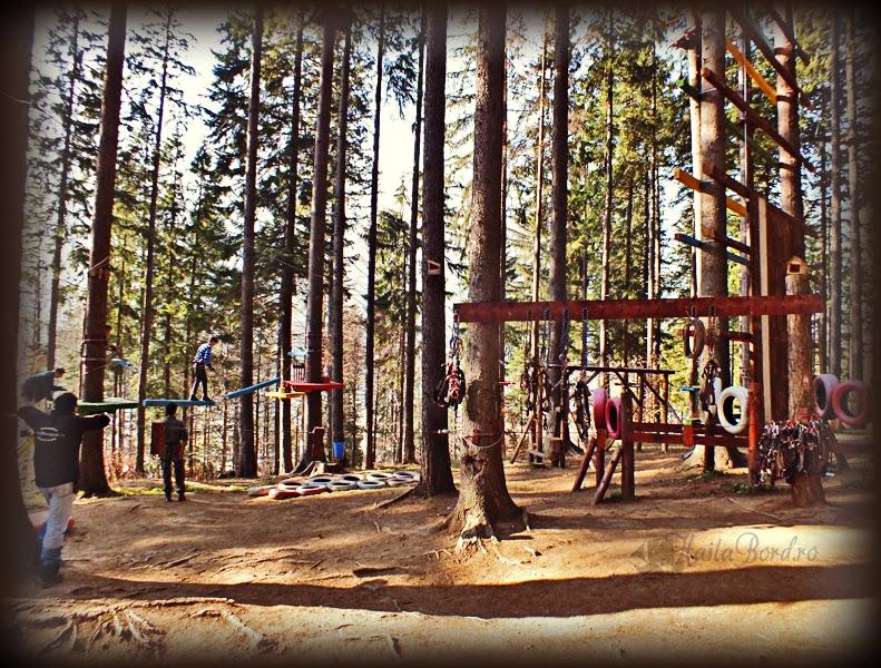 escapade adventure park zamora busteni