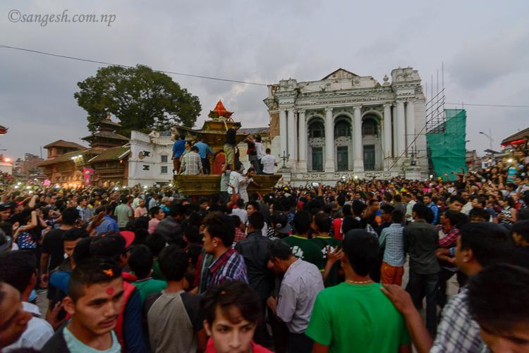 gaddi, baithak, palace, Nepal