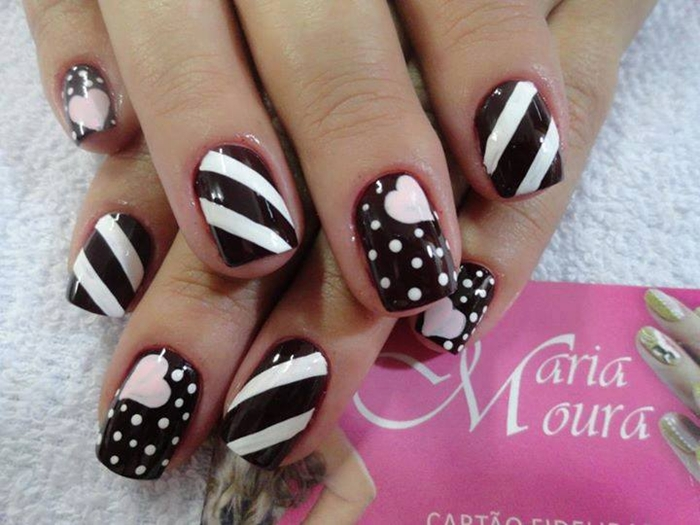 Winter funky nail arts 2016 designs for girls fashionte winter funky nail arts 2016 designs for girls prinsesfo Images