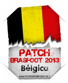 Patch Bélgica Brasfoot 2013