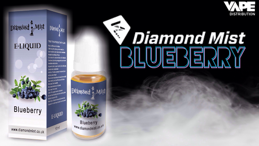 Review of Diamond Mist Blueberry high VG eliquid from Vape