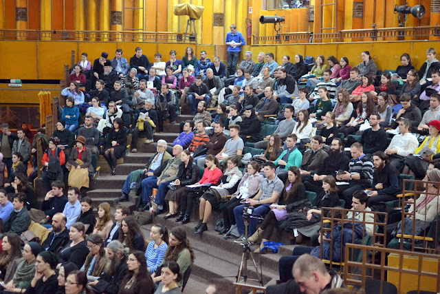 044 Avva Justin Parvu si Sfintii inchisorilor (Teatrul Luceafarul, Iasi, 2014.03.19)