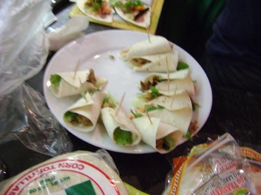 Tim's winning Bahn Mexicano Tacos
