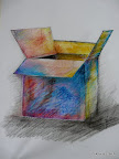 """Verpackung"", Bleistift Papier, 2000"