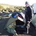 Dan 3 - nakon hladne noći polazak prema Mawenzi Tarn hutu