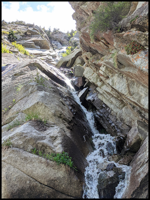 Right Side of Coalpit Gulch Waterfall