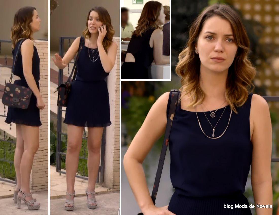 moda da novela Alto Astral, look da Laura dia 26 de dezembro de 2014