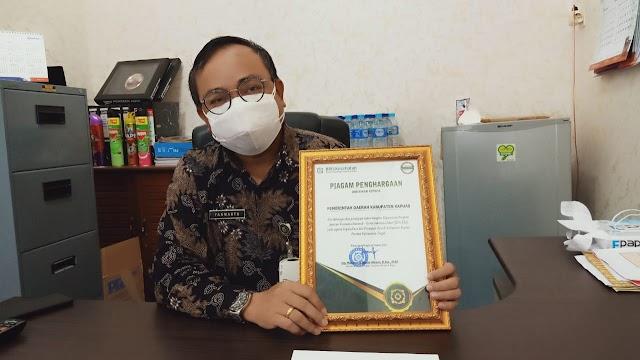 Pemkab Kapuas Raih Penghargaan dari BPJS Kesehatan