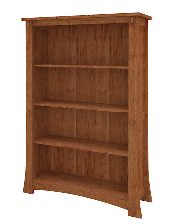 Seville Standard Bookshelf in Itasca Maple