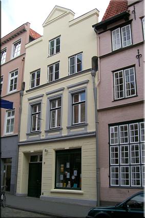 Casa de Günter Grass (GünterGrassHaus) - Lübeck