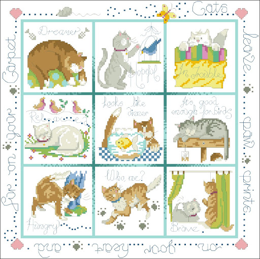 Cat Cusion chart