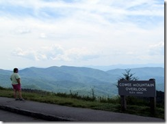 Cowee Mountain Overlook BRP