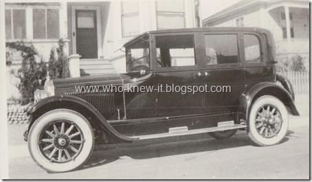 Gunzendorfer Car possible date unknown