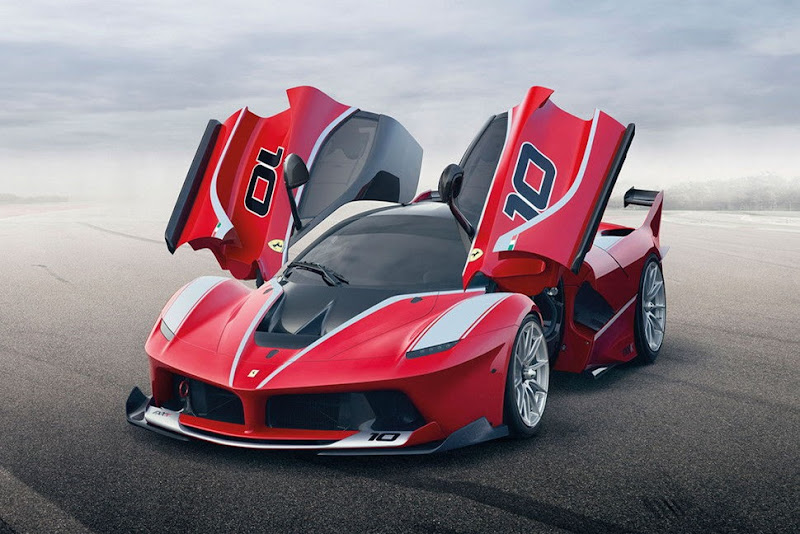 LaFerrari FXX K Red Color Wallpaper