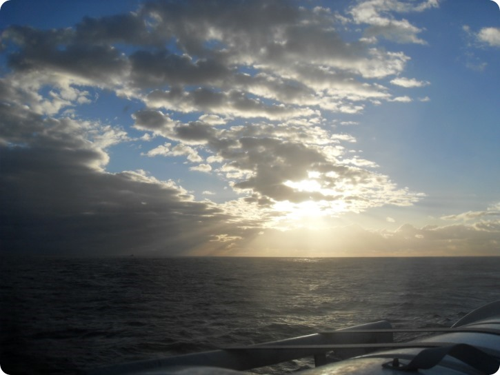 Bølgegang mellem Ystad og Rønne
