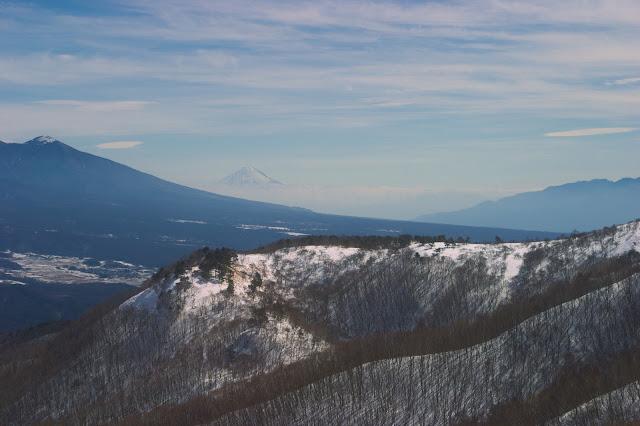 車山高原 富士山遠望